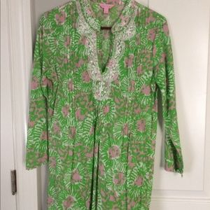 Lilly Pulitzer Tunic/Cover Up